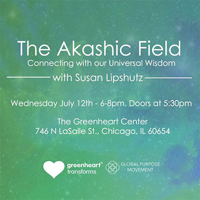 The Akashic Field with Susan Lipshutz
