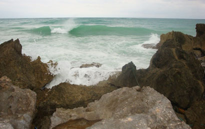 Tulum waves, Goddess Journey