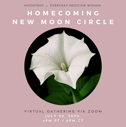 Homecoming: New Moon Virtual Circle