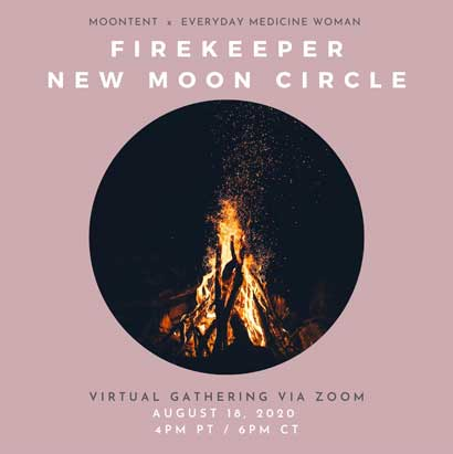Firekeeper: New Moon Virtual Circle